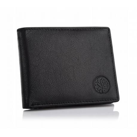 Męski skórzany portfel betlewski bpm-gtn-66 carny