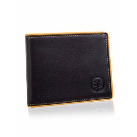 Stylowy portfel męski betlewski bpm-dp-60 czarny
