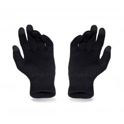 Ciepłe rękawiczki męskie na zimę pamami czarne