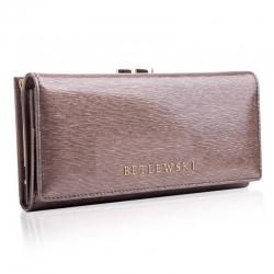 Stylowy portfel betlewski zbpd-bs-72031 szary
