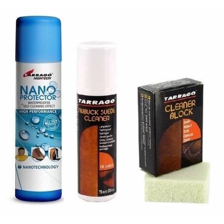 Zestaw do czyszczenia butów + nano protector tarrago