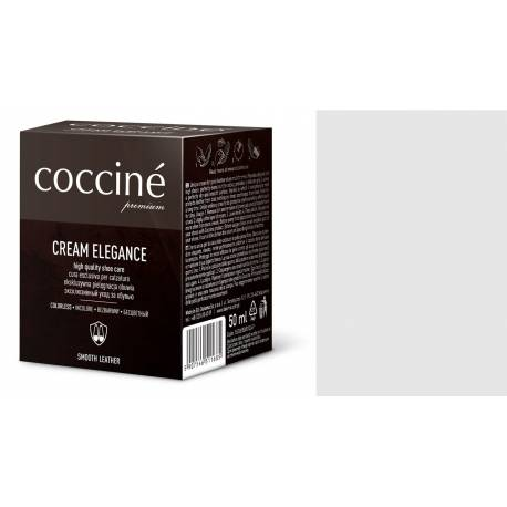 Pasta do butów krem do skóry gładkiej cream elegance coccine 50 ml