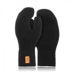 Damskie rękawiczki zimowe z jednym palcem brodrene r02 czarne