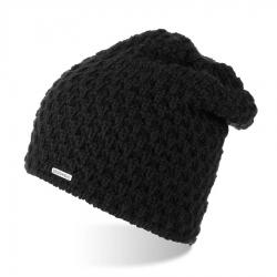 Zimowa czapka damska z polarem brodrene cz25 czarny