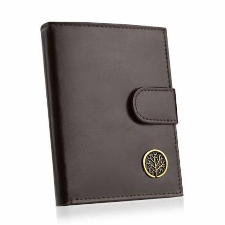 Skórzany portfel męski betlewski rfid