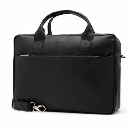 Elegancka teczka torba na laptop brodrene b12 czarna
