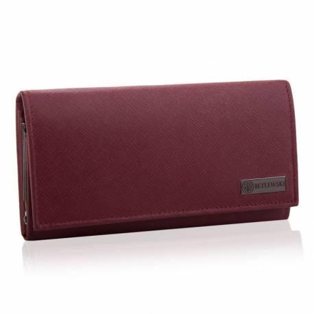 Duży czerwony portfel damski bpd-sa-13 betlewski