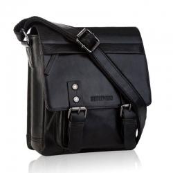 Męska torba skórzana tbs-310 betlewski czarna