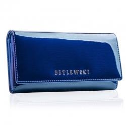 Skórzany portfel damski betlewski duży