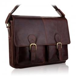 Brązowa torba na laptopa tbs-318 betlewski