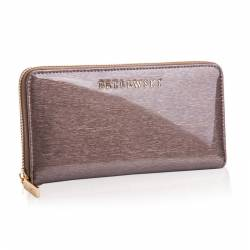 Duży skórzany portfel damski betlewski rfid