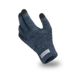 Ciepłe rękawiczki męskie na zimę pamami granatowe