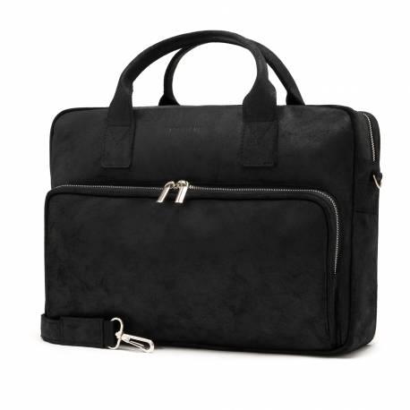 Czarna torba męska na laptop 15,6' brødrene