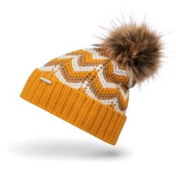 Ciepła zimowa czapka damska z polarem cz30 brodrene