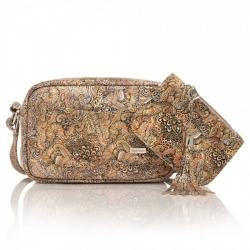 Skórzana torebka damska z etui paolo peruzzi