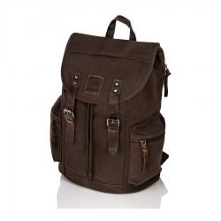 Brązowy plecak na laptopa paolo peruzzi
