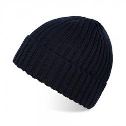 Granatowa czapka męska zimowa paolo peruzzi