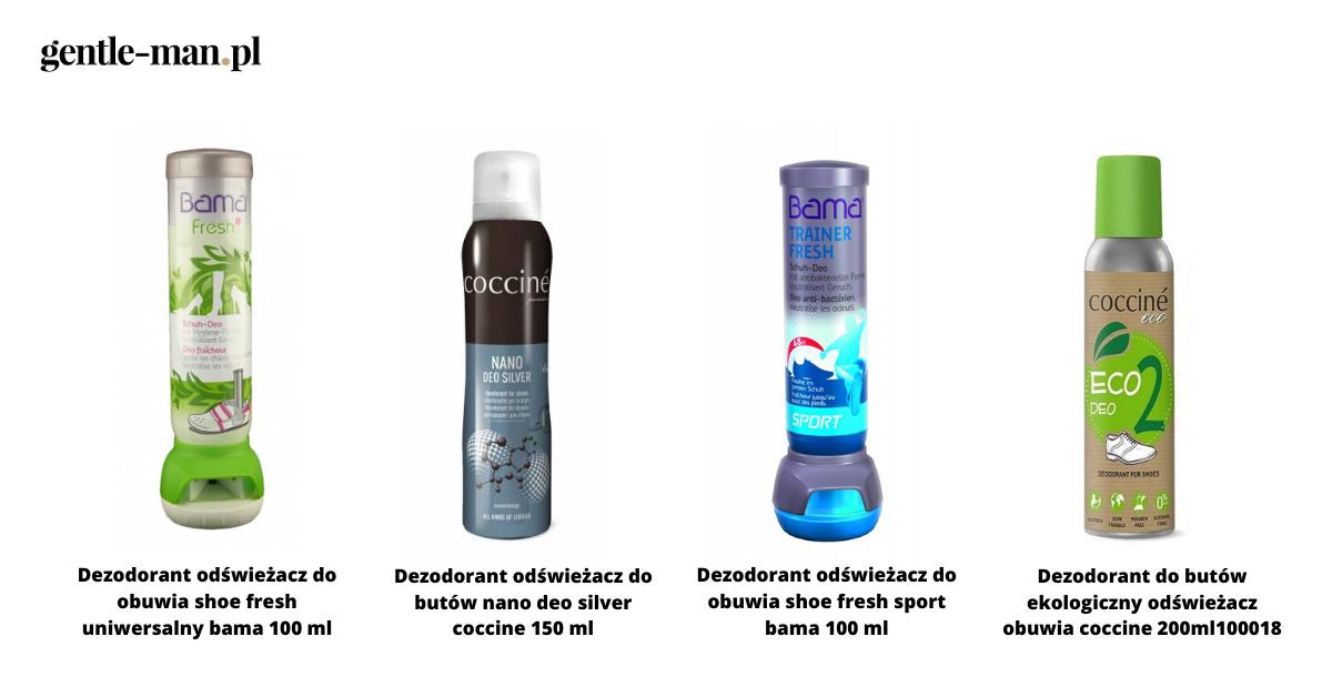 dezodoranty do butów gentleman.pl