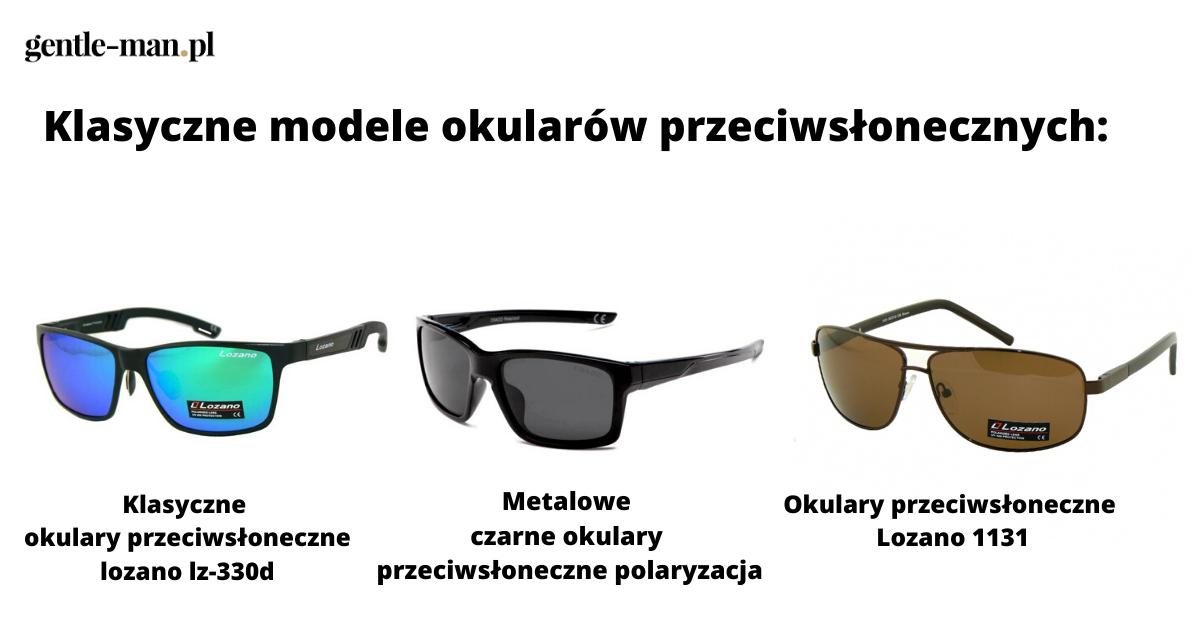 klasyczne modele okularów