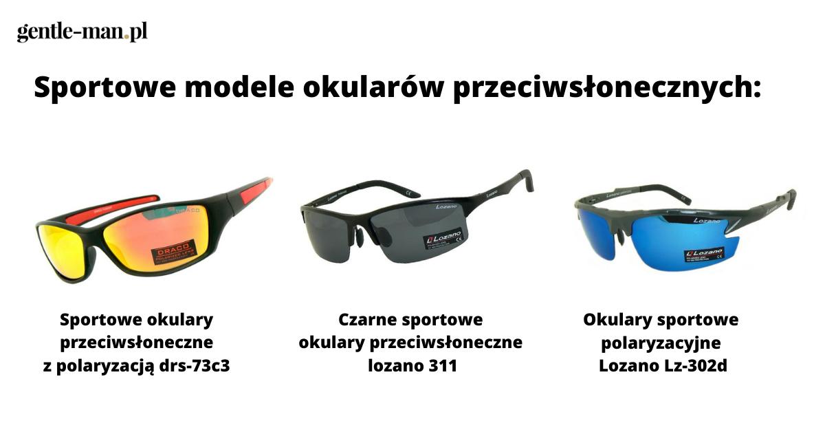 sportowe modele okularów